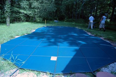 Mesh Swimming Pool Covers at Deep Blue Pools and Spas